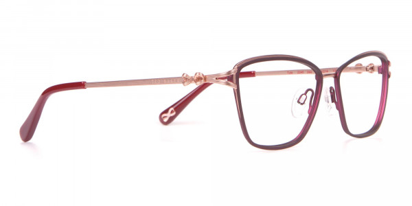 Ted Baker TB2245 Tula Women Classic Cateye Glasses Burgundy-2