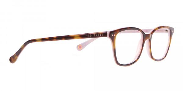 Ted Baker TB9123 CODY Pink & Tortoise Rectangular Frame-2