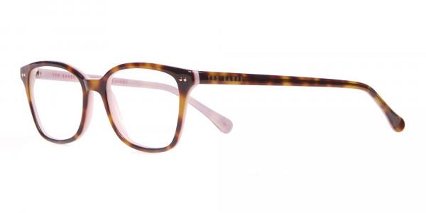 Ted Baker TB9123 CODY Pink & Tortoise Rectangular Frame-3