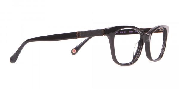 Ted Baker TB9124 SENNA Women's Black Cateye Glasses-2