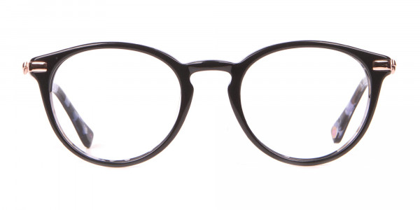 Ted Baker TB9132 Val Women's Black Mable Round Glasses-1