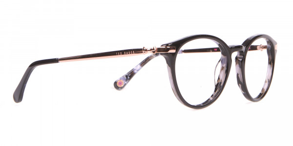 Ted Baker TB9132 Val Women's Black Mable Round Glasses-2