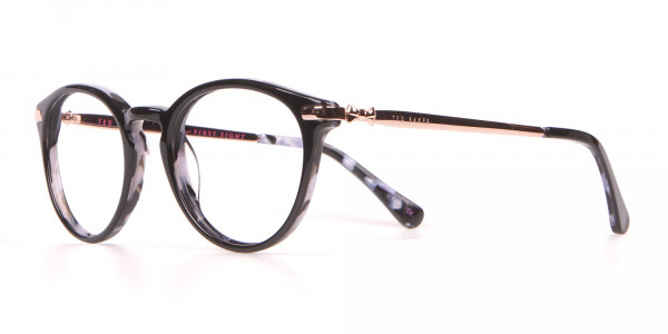 Ted Baker TB9132 Val Women's Black Mable Round Glasses-3