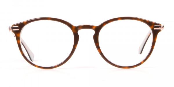 Ted Baker TB9132 Val Women Mint & Tortoise Round Glasses-1