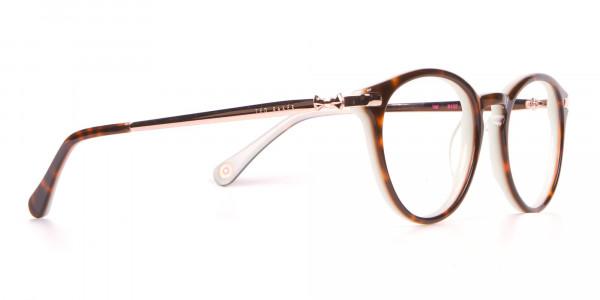 Ted Baker TB9132 Val Women Mint & Tortoise Round Glasses-2