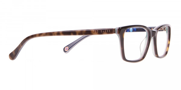 Ted Baker TB9141 Thea Blue & Tortoise Rectangular Glasses -2
