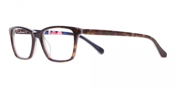 Ted Baker TB9141 Thea Blue & Tortoise Rectangular Glasses -3