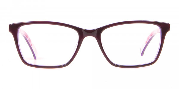 Ted Baker TB9141 Thea Women Purple Rectangular Glasses-1
