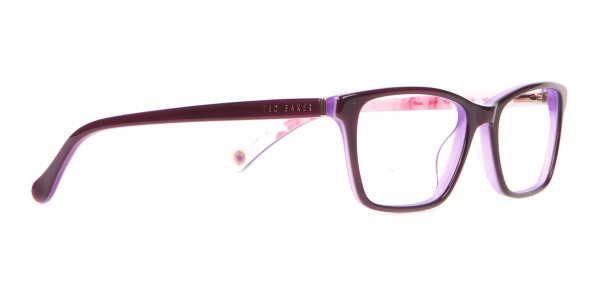 Ted Baker TB9141 Thea Women Purple Rectangular Glasses-2