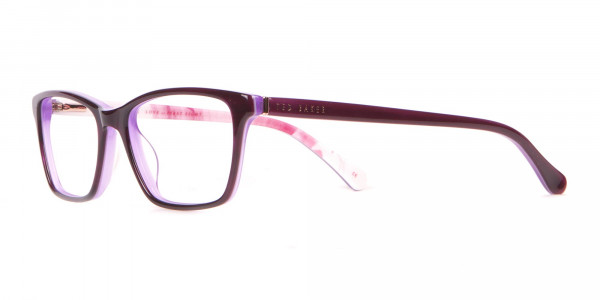 Ted Baker TB9141 Thea Women Purple Rectangular Glasses-3