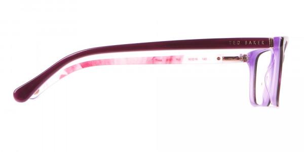 Ted Baker TB9141 Thea Women Purple Rectangular Glasses-4