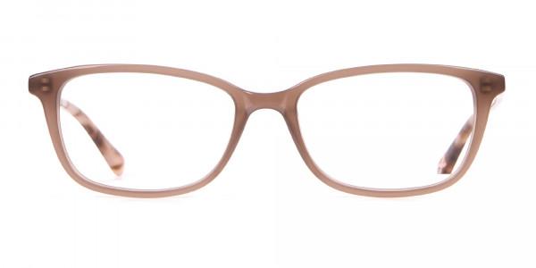 Ted Baker TB9162 Lorie Women's Taupe Rectangular Glasses-1