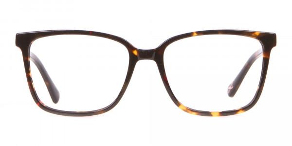 Tad Baker TB9179 Women Tortoise Full Rim Wayfarer Glasses-1