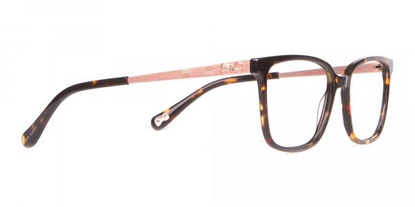 Tad Baker TB9179 Women Tortoise Full Rim Wayfarer Glasses-2