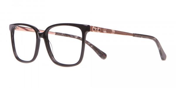 Tad Baker TB9179 Women Black Full Rim Wayfarer Glasses-3