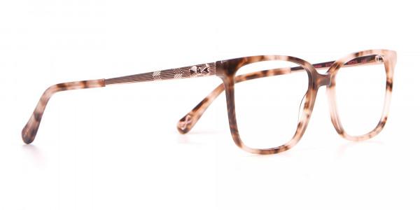 Tad Baker TB9179 Women Light Tortoise Square Glasses-2