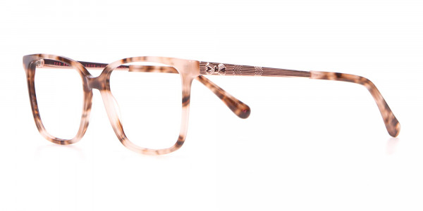 Tad Baker TB9179 Women Light Tortoise Square Glasses-3
