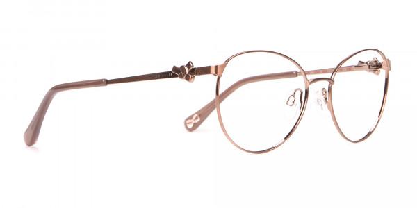 Ted Baker TB2243 Elvie Full Rim Round Metal Glasses Women-2