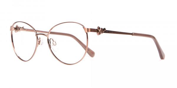 Ted Baker TB2243 Elvie Full Rim Round Metal Glasses Women-3