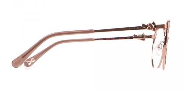 Ted Baker TB2243 Elvie Full Rim Round Metal Glasses Women-4