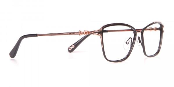 Ted Baker TB2245 Tula Women's Classic Cat Eye Glasses Black-2