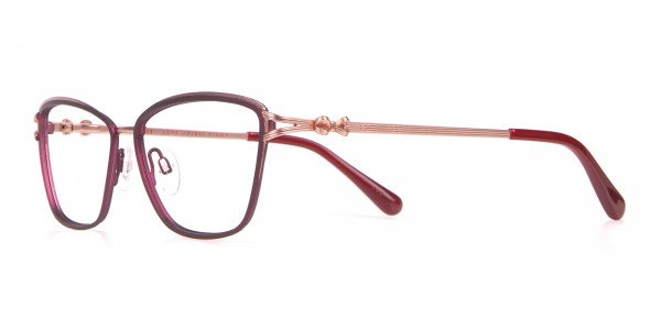 Ted Baker TB2245 Tula Women Classic Cateye Glasses Burgundy-3