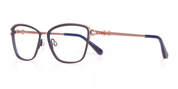 Ted Baker TB2245 Tula Women Classic Cateye Glasses Navy-3