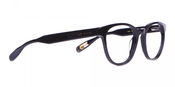 TED BAKER TB8197 Cade Glasses Classic Round Black Chunky-2