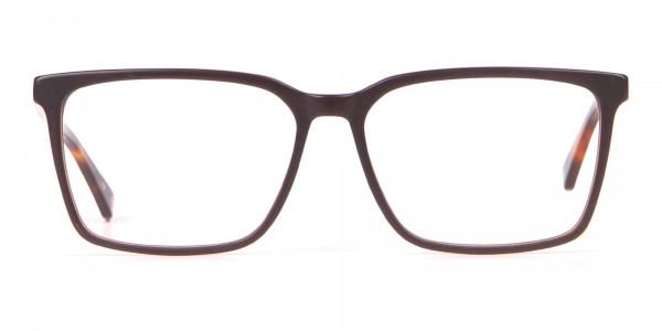 TED BAKER TB8209 ROWE Rectangular Glasses Matte Black-1