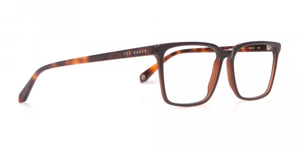TED BAKER TB8209 ROWE Rectangular Glasses Matte Black-2