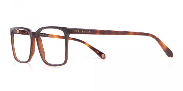 TED BAKER TB8209 ROWE Rectangular Glasses Matte Black-3