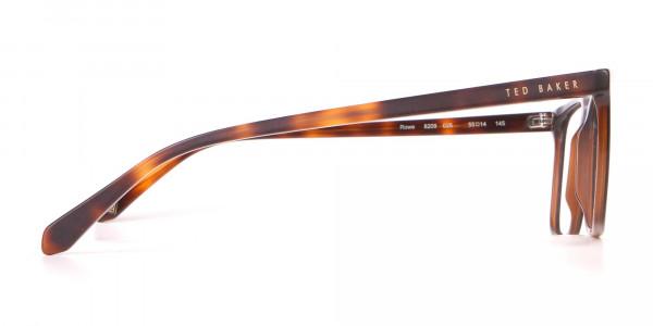 TED BAKER TB8209 ROWE Rectangular Glasses Matte Black-4