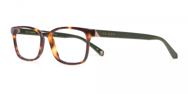 TED BAKER TB2810 FULLER Rectangle Glasses Green & TortoisE-3