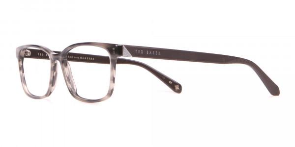 TED BAKER TB2810 FULLER Rectangular Glasses Grey Tortoise -3