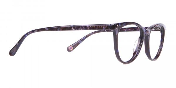 TED BAKER TB9146 Gigi Cat Eye Glasses Purple Marble-2