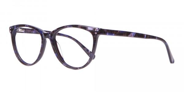 TED BAKER TB9146 Gigi Cat Eye Glasses Purple Marble-3