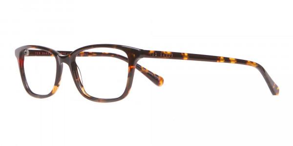 Ted Baker TB9162 Lorie Women Tortoise Rectangular Glasses-3