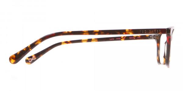 Ted Baker TB9162 Lorie Women Tortoise Rectangular Glasses-4