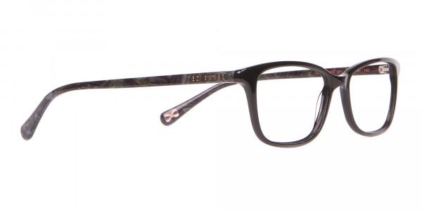 Ted Baker TB9162 Lorie Women's Black Rectangular Glasses-2