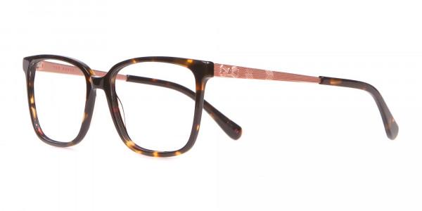 Tad Baker TB9179 Women Tortoise Full Rim Wayfarer Glasses-3