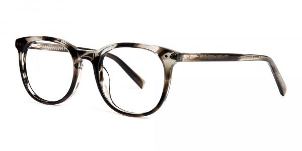grey-tortoise-shell-wayfarer-round-full rim-glasses-frames -3