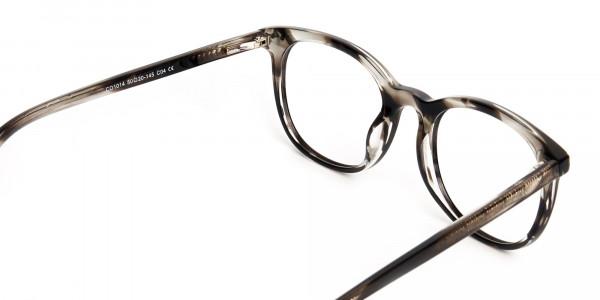 grey-tortoise-shell-wayfarer-round-full rim-glasses-frames -5