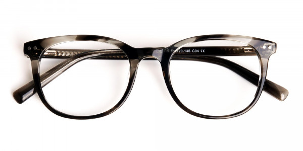 grey-tortoise-shell-wayfarer-round-full rim-glasses-frames -6