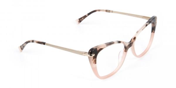 Brown Tortoise Eyeglasses Wayfarer & Cat-eye-2