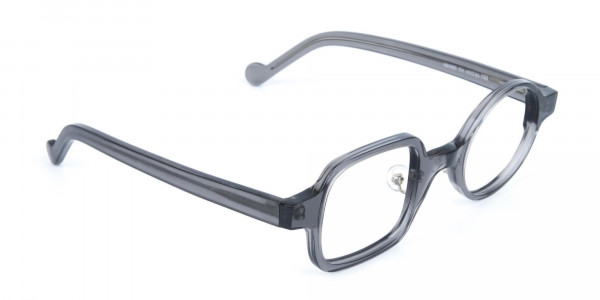 Asymmetric Round and Square Eyeglasses-2
