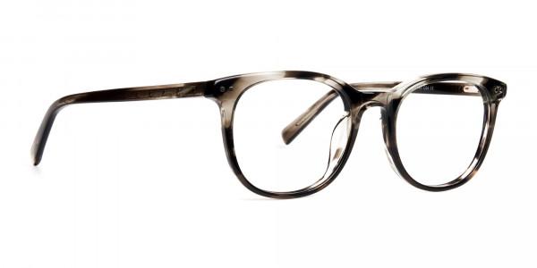 grey-tortoise-shell-wayfarer-round-full rim-glasses-frames -2