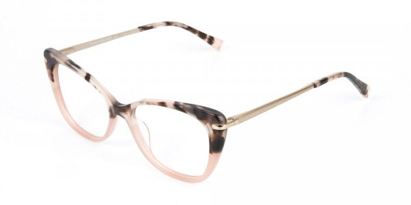 Brown Tortoise Eyeglasses Wayfarer & Cat-eye-3
