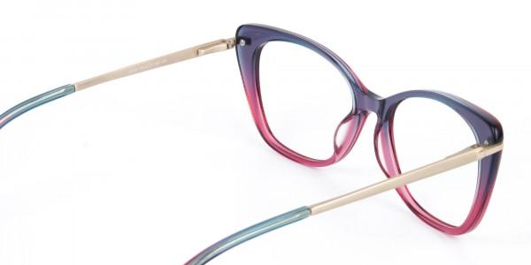 Dusty Purple & Magenta Eyeglasses Cat-Eye-5