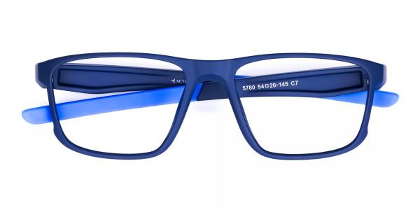 Navy Blue Rectangular polarized fishing glasses-6