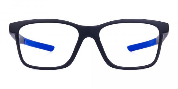 Blue & Black Running Glasses For Men -1